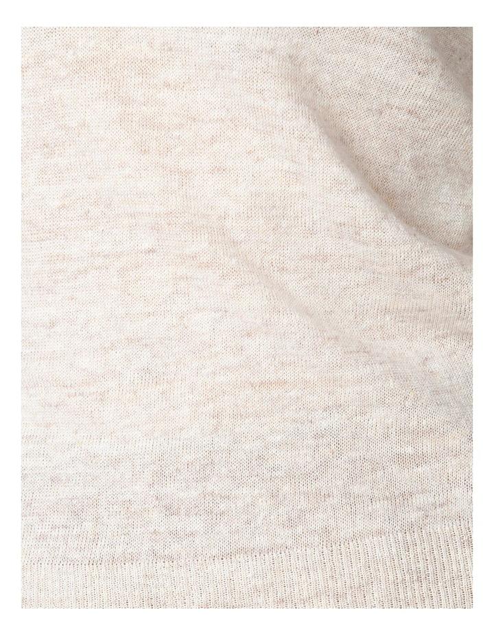Linen Knit Crew image 4