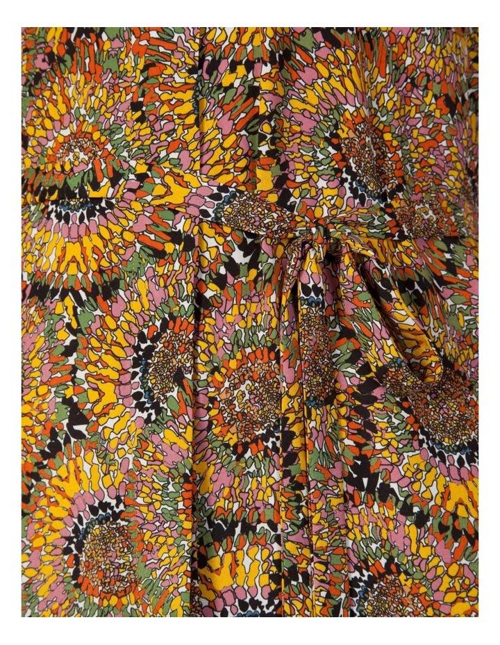 Silk Sleeveless Button Through Dress image 4