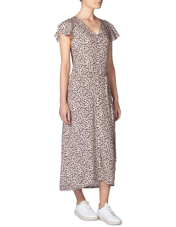 Silk Frill Sleeve Dress image 2