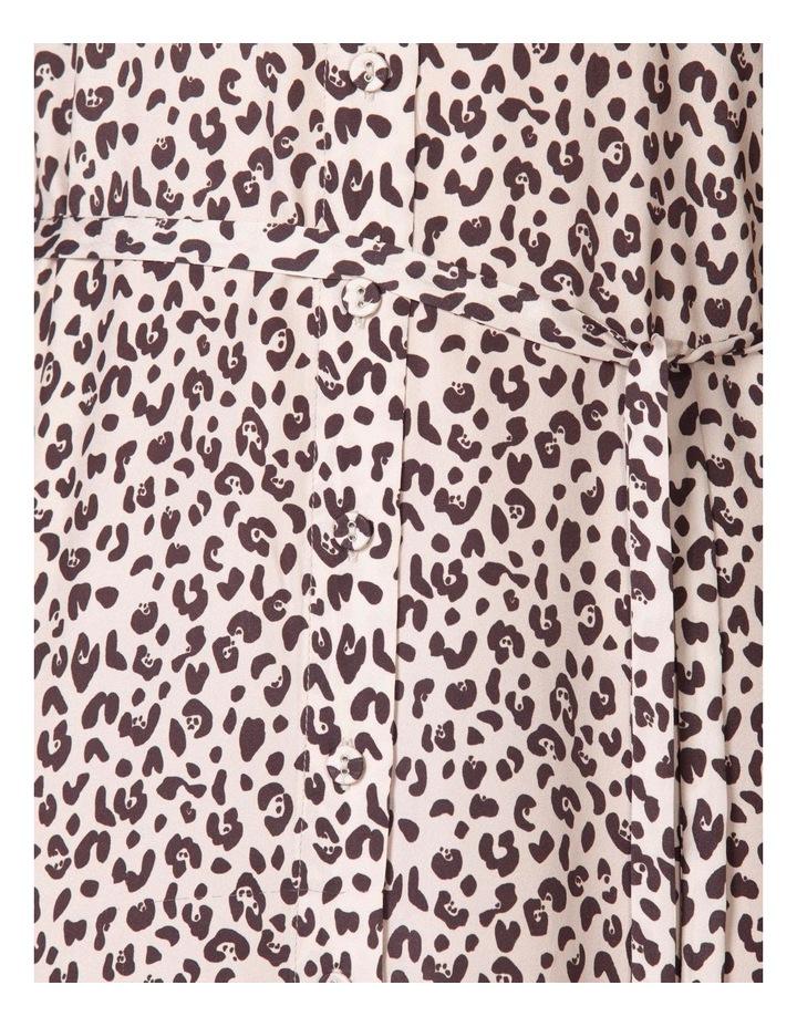 Silk Frill Sleeve Dress image 4