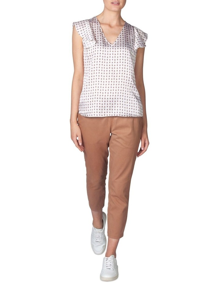 Silk Frill Sleeve Blouse image 1