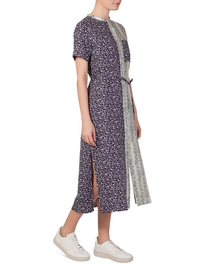 Multi Print Shirt Maxi Dress image 2