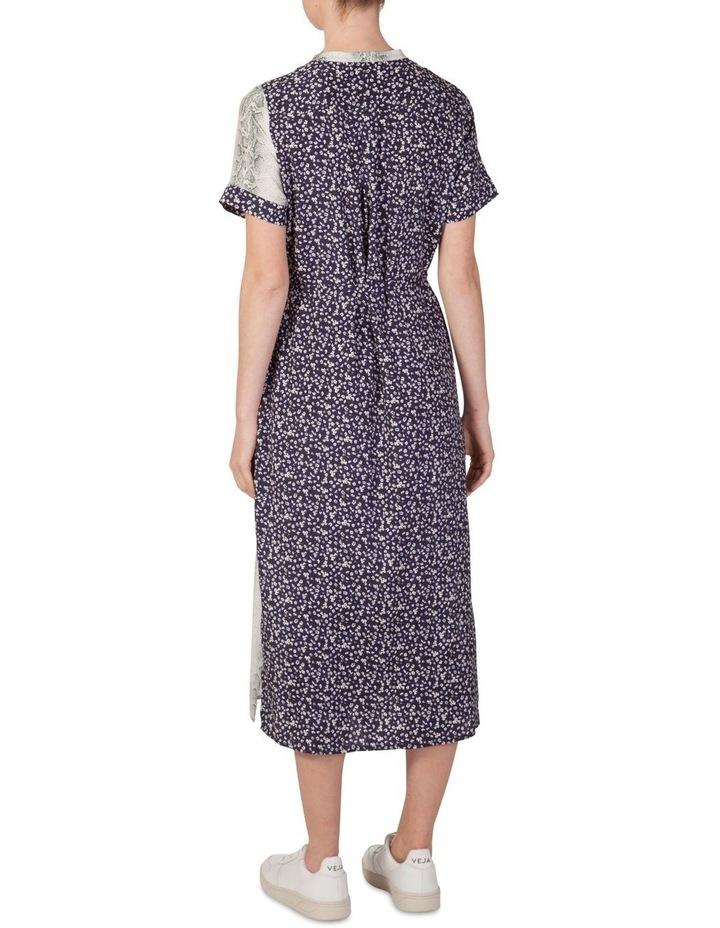 Multi Print Shirt Maxi Dress image 3