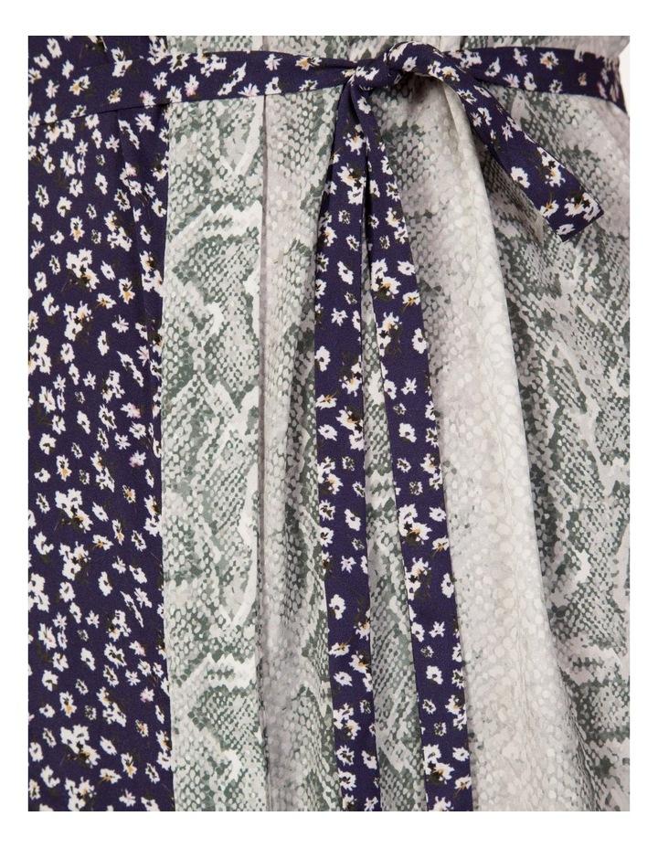 Multi Print Shirt Maxi Dress image 4