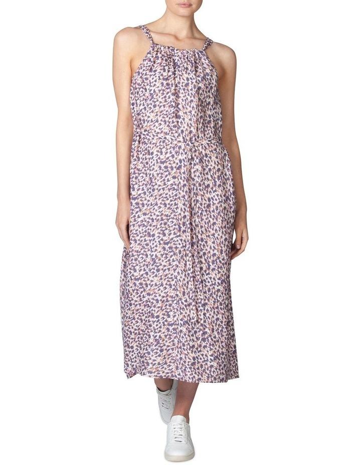 Silk Resort Print Dress image 1