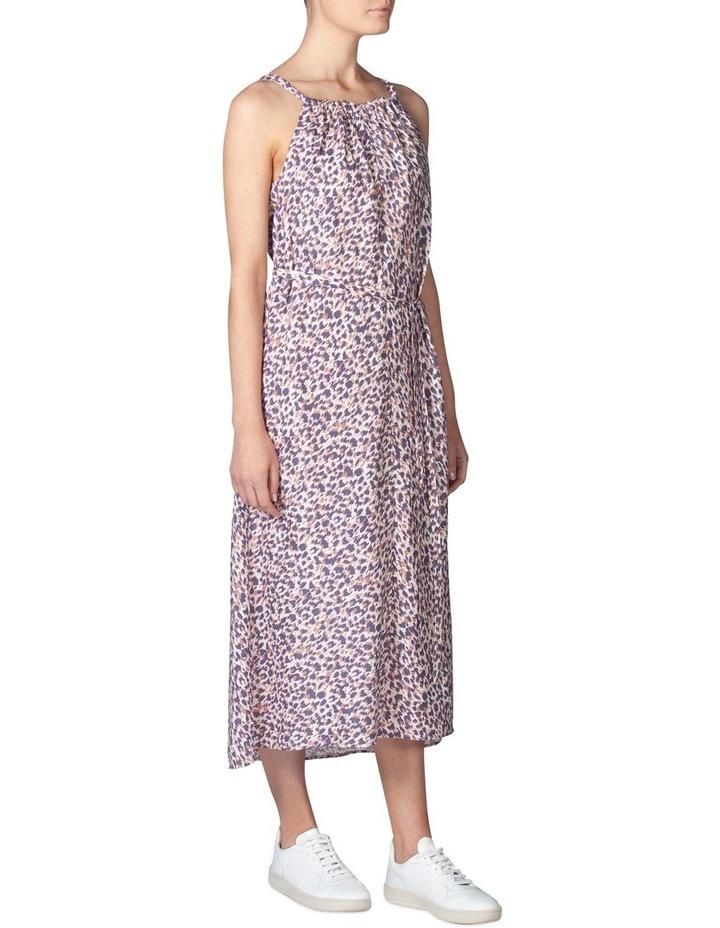 Silk Resort Print Dress image 2