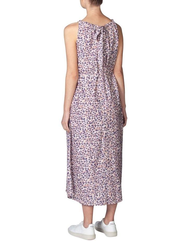 Silk Resort Print Dress image 3