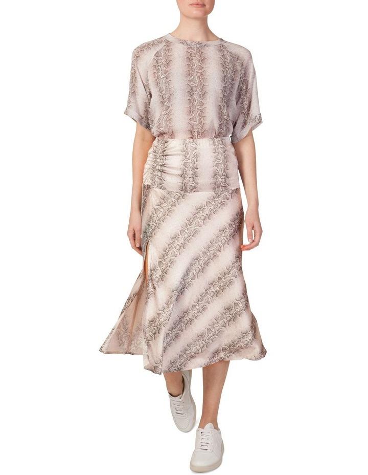 Bias Cut Split Skirt image 1