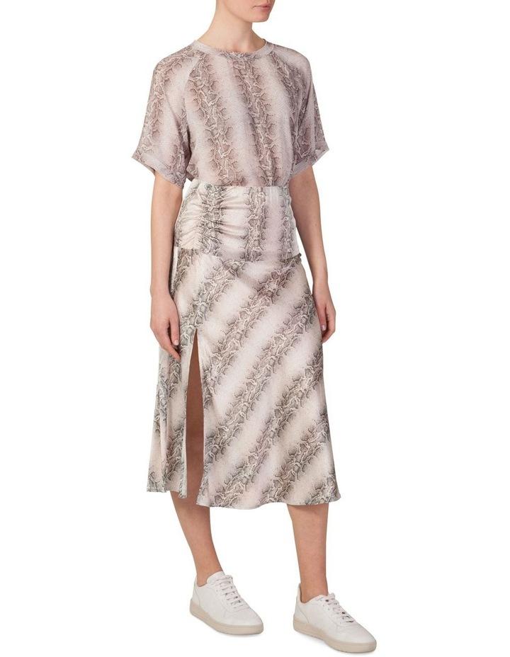 Bias Cut Split Skirt image 2