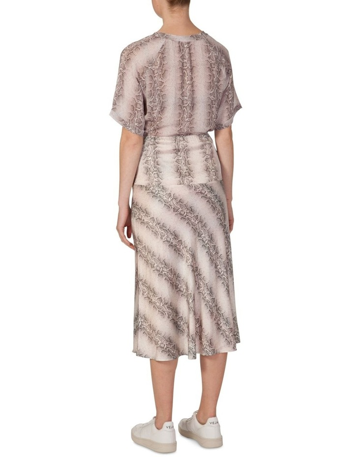 Bias Cut Split Skirt image 3