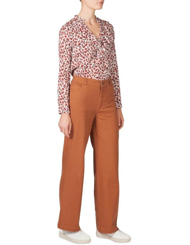 Sheer Soft Frill Shirt image 2