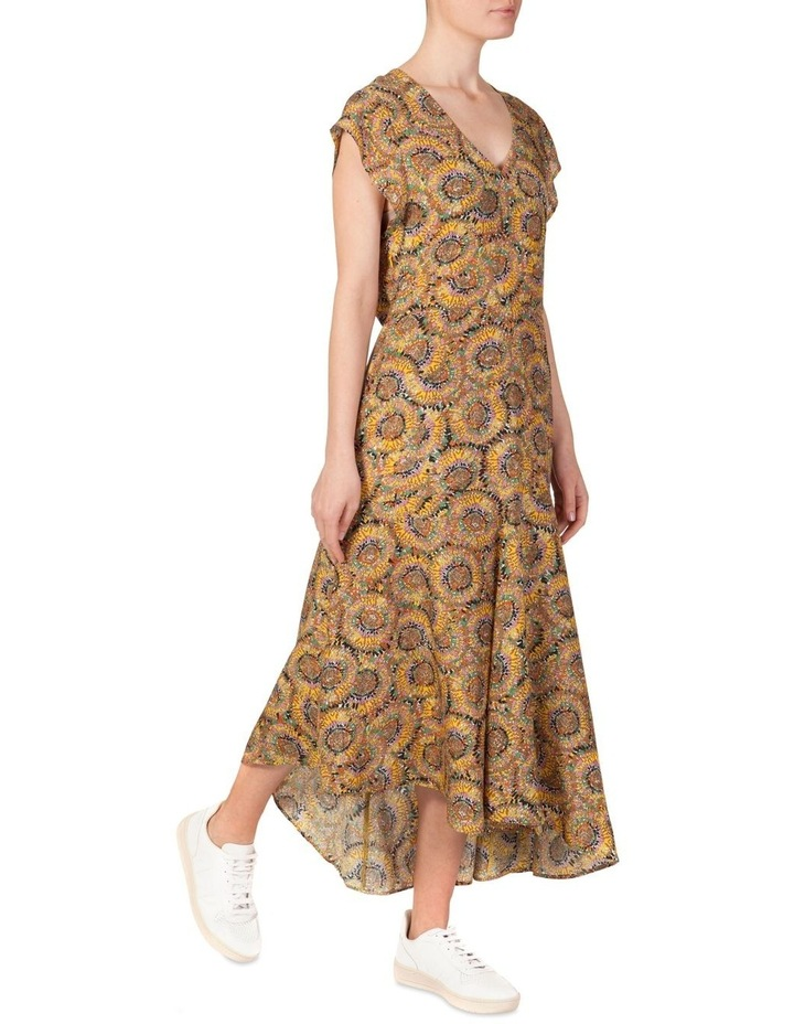 Silk Stepped Hem Dress image 2