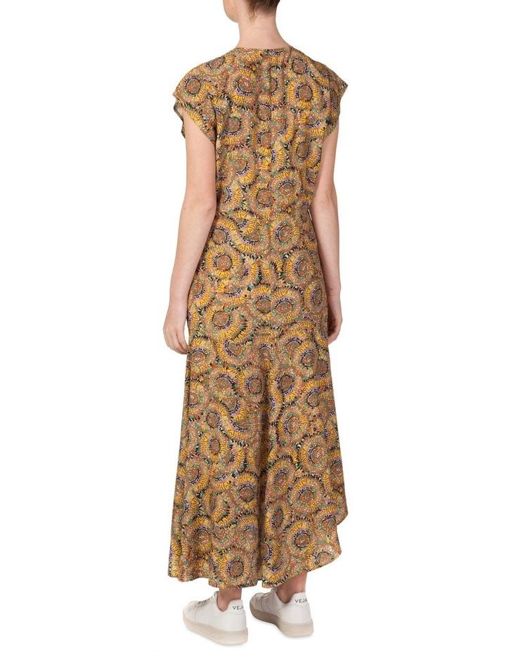 Silk Stepped Hem Dress image 3