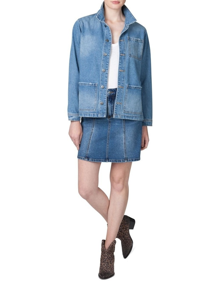 Oversized Denim Jacket image 1