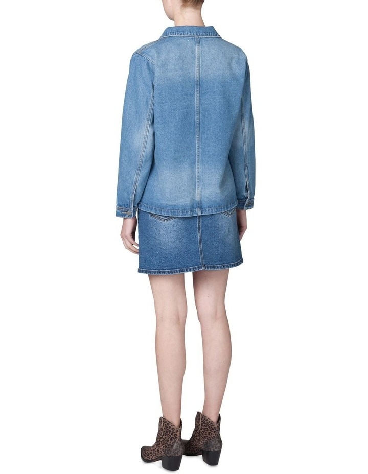 Oversized Denim Jacket image 3