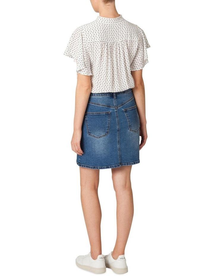 Denim Panel Skirt image 3