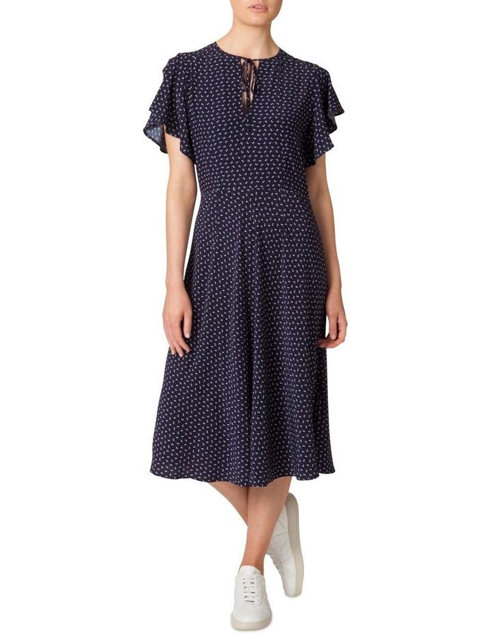 Flutter Sleeve Midi Dress image 1