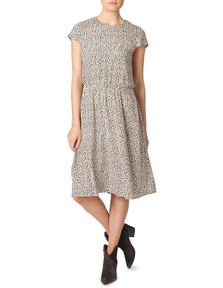 Silk Elastic Waist Dress image 1