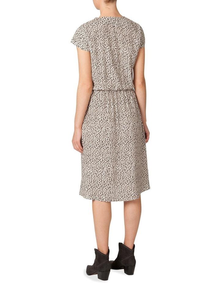 Silk Elastic Waist Dress image 2