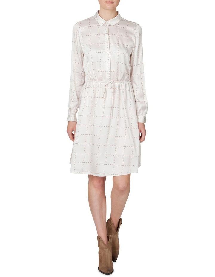 Window Pane Shirt Dress image 1