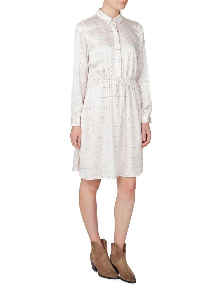 Window Pane Shirt Dress image 2