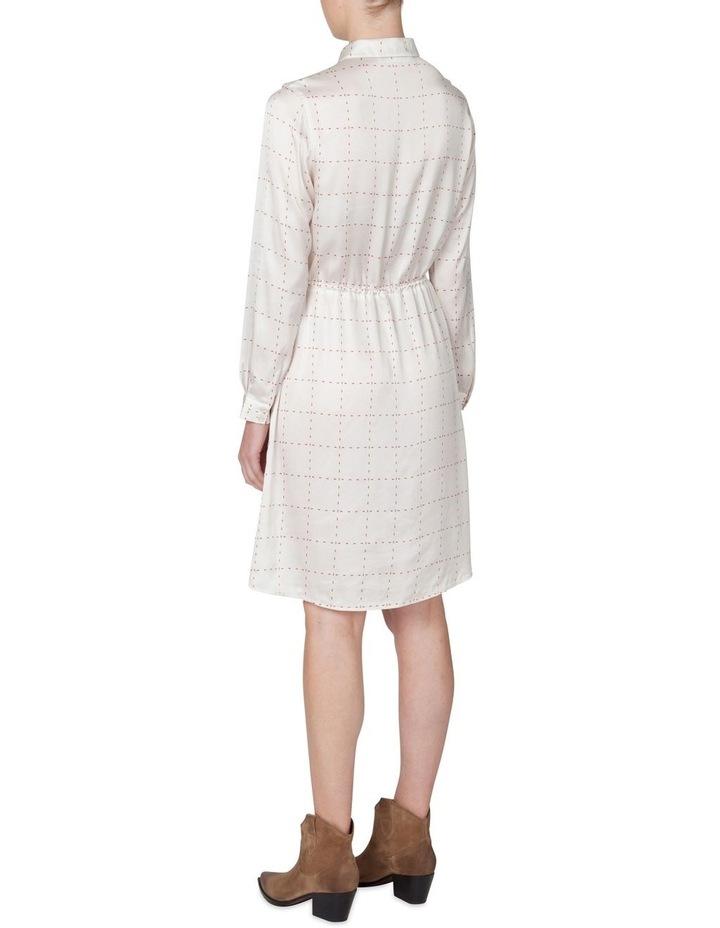 Window Pane Shirt Dress image 3