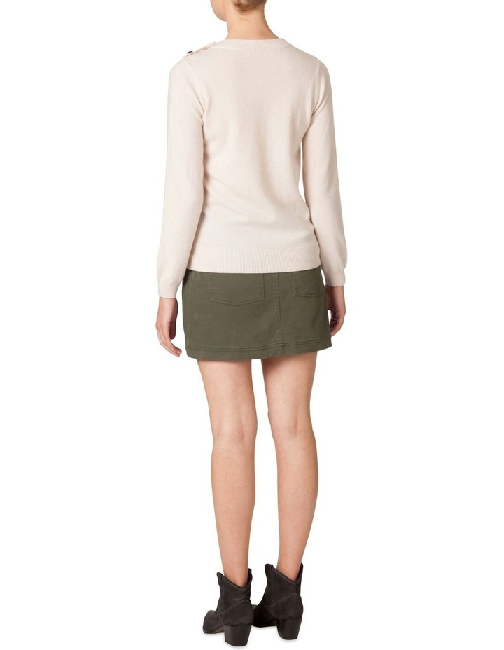 3 Button Racked Sweater image 3