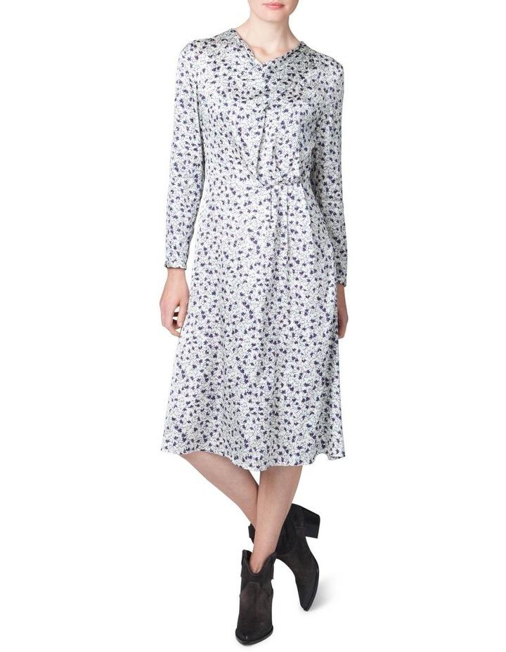 Cowl Neck Print Dress image 1