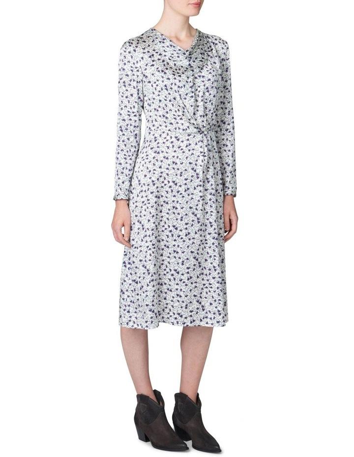 Cowl Neck Print Dress image 2