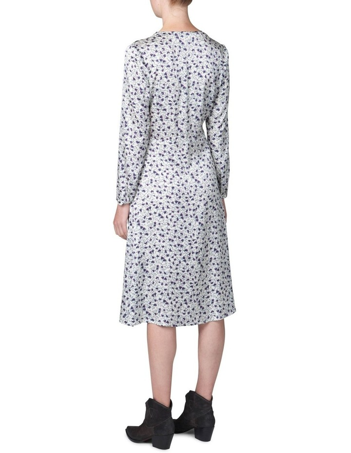 Cowl Neck Print Dress image 3