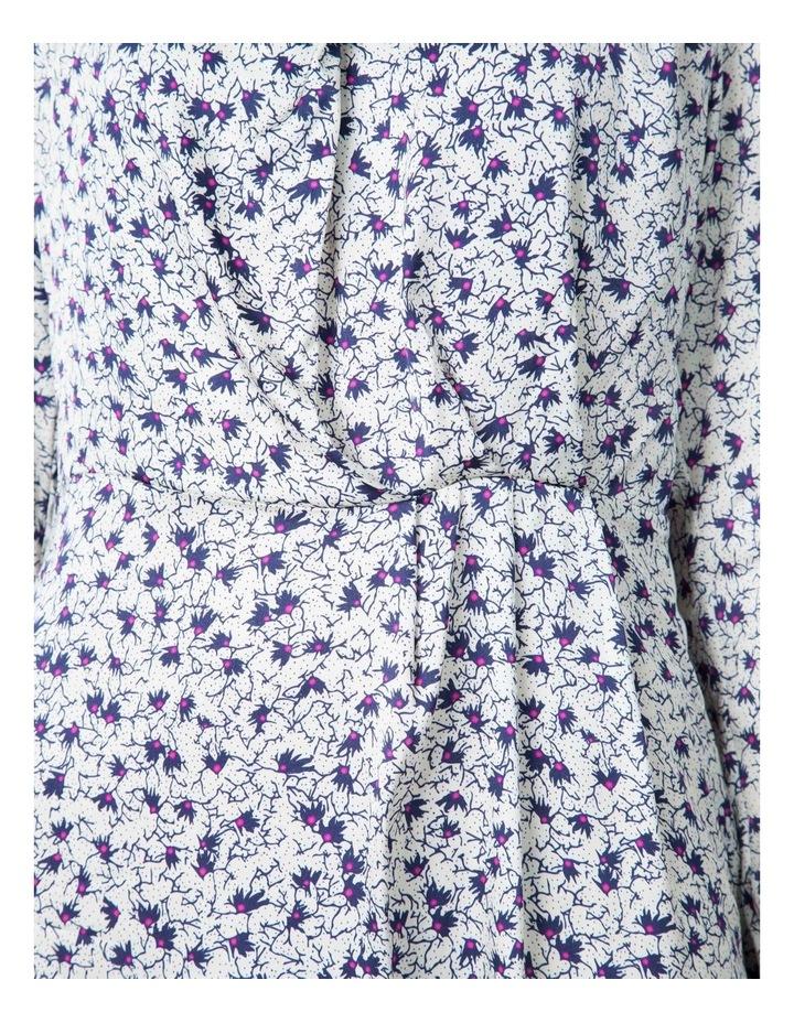 Cowl Neck Print Dress image 4