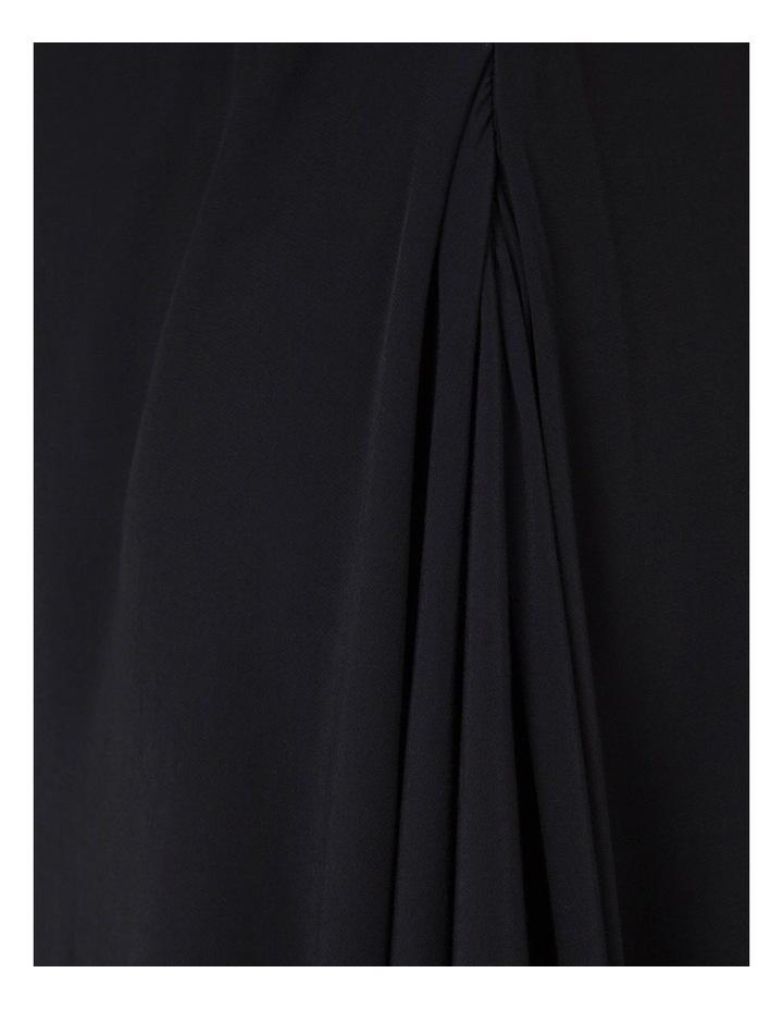 Asymmetrical Flutter Sleeve Dress image 4