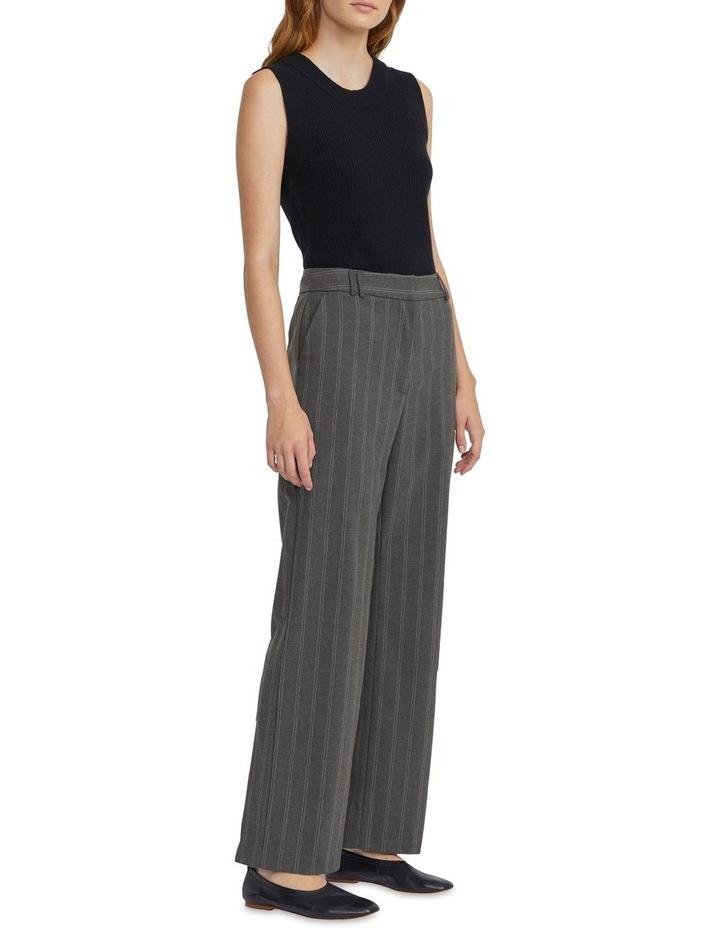 Stripe Wideleg Trouser image 1