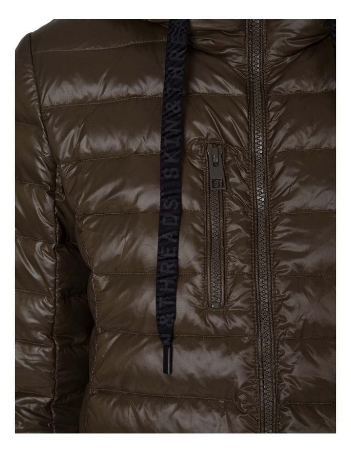 Longline Puffer Jacket image 4