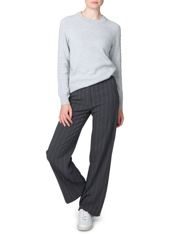Plait Sleeve Sweater image 1