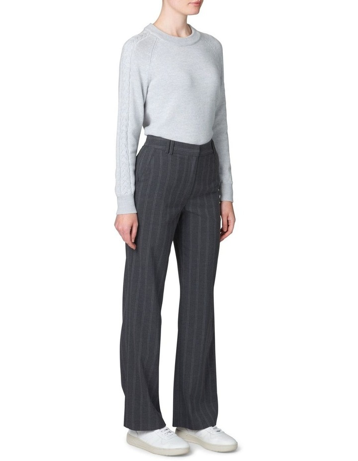 Plait Sleeve Sweater image 2