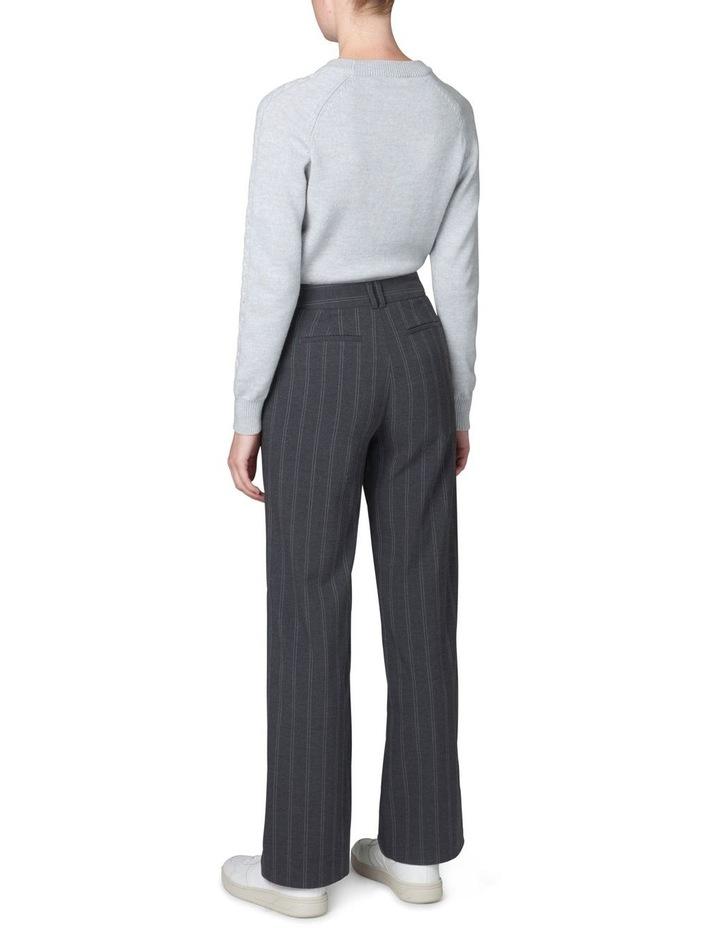 Plait Sleeve Sweater image 3
