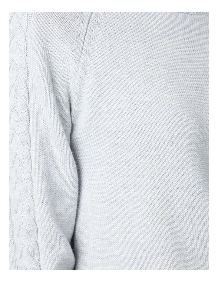 Plait Sleeve Sweater image 4