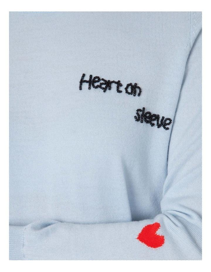 Heart On Sleeve Knit image 4