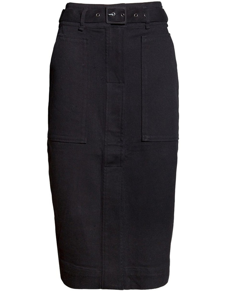 A-line Belted Skirt image 1