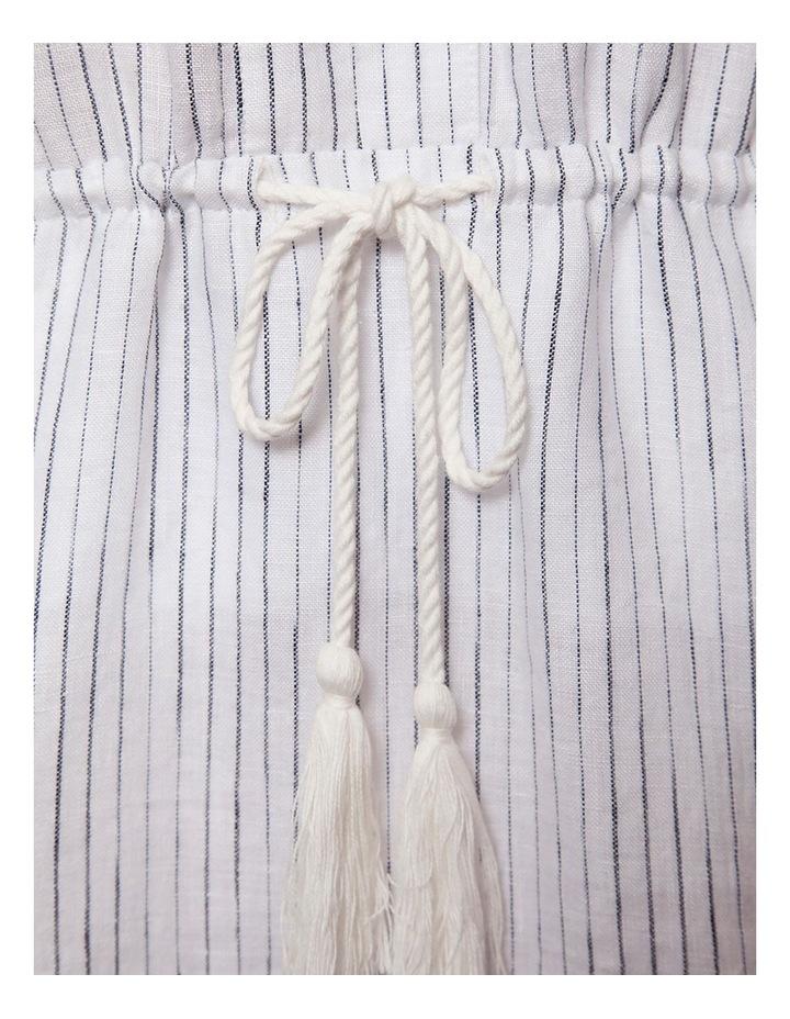 Linen Tiered Maxi Dress image 2