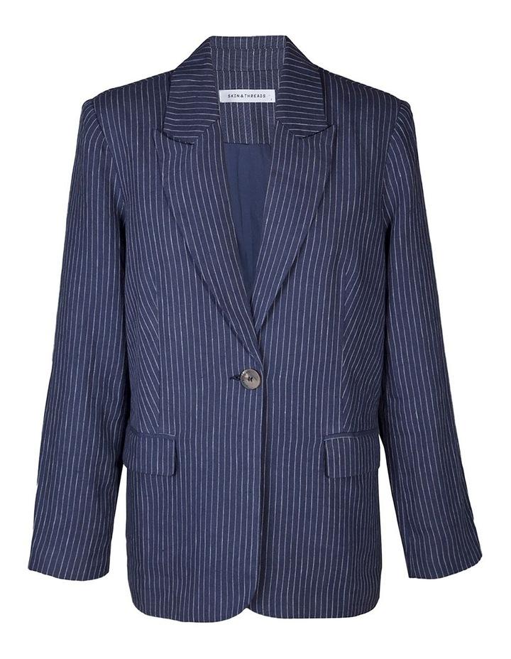 Linen Tailored Blazer image 1