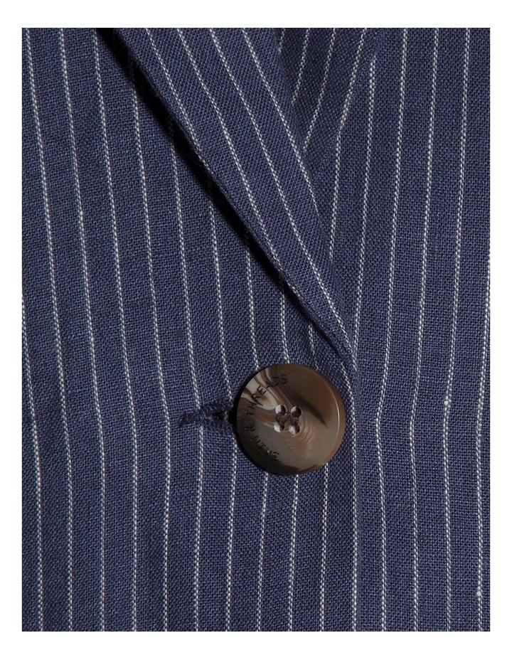 Linen Tailored Blazer image 2