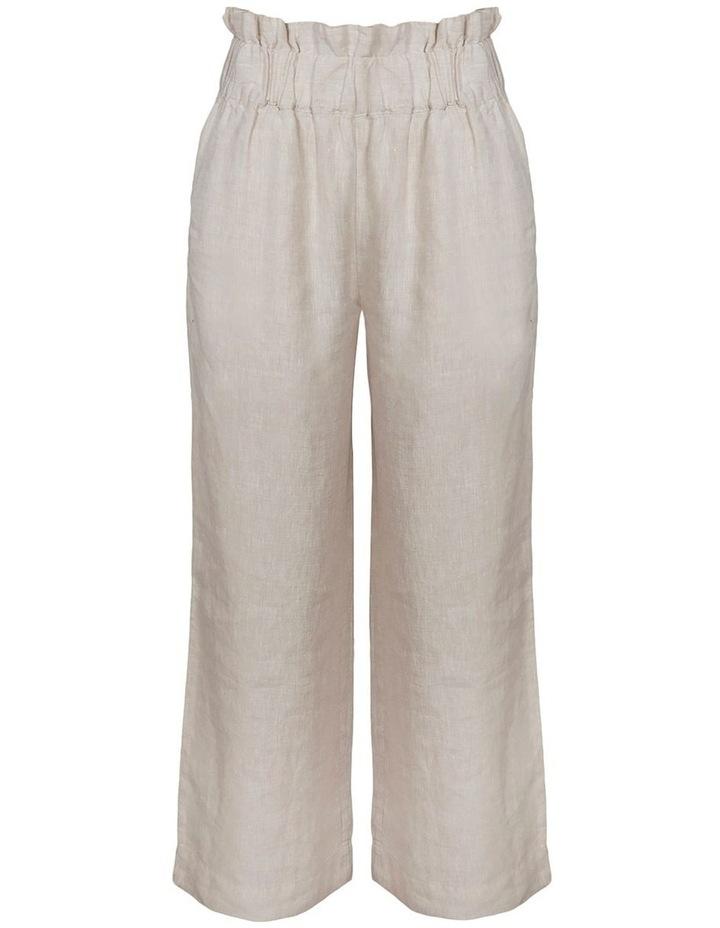 Linen Paperbag Resort Pant image 1
