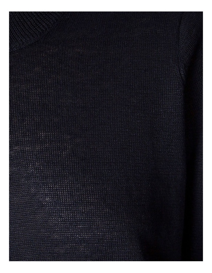 Linen Knit Crew image 2