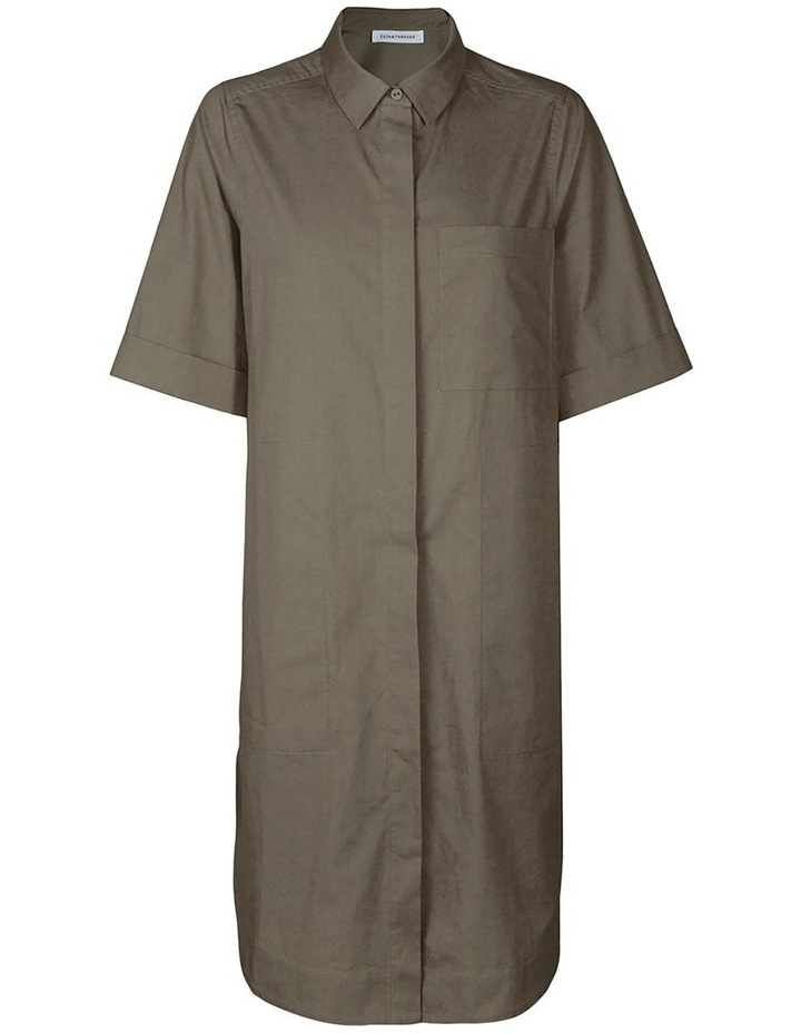 Cotton-Poplin Shirt Dress image 1