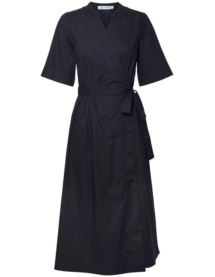 Cotton Wrap Dress image 1