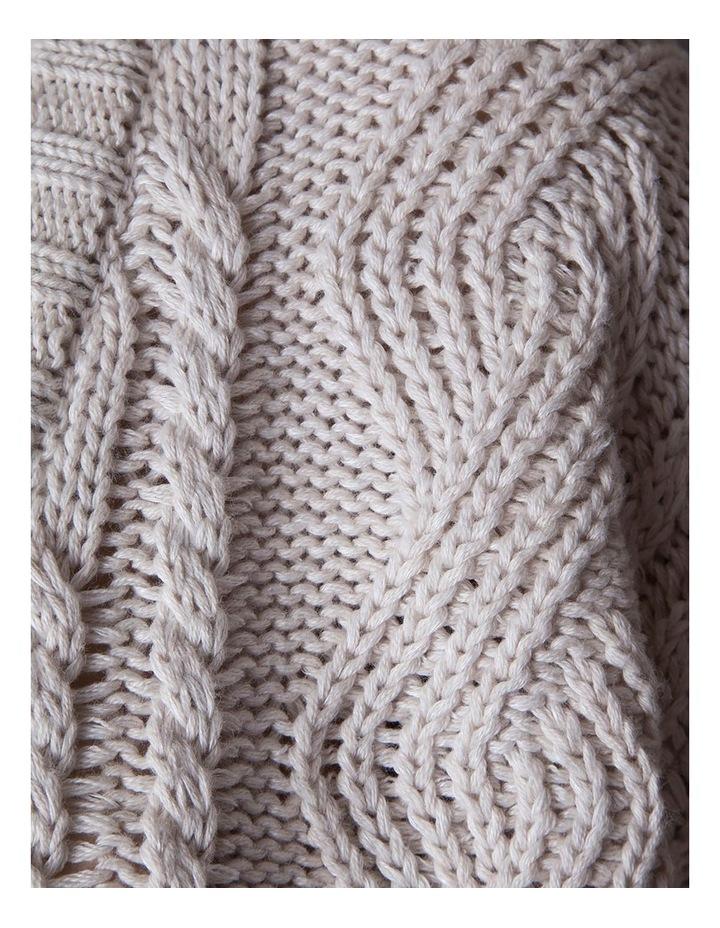 Linen-Cotton Cable Knit image 2