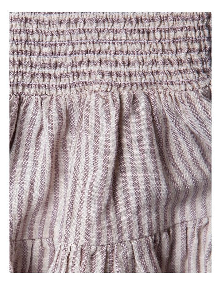 Linen Shirred Frill Skirt image 2
