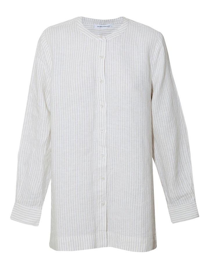 Linen Oversized Shirt image 1